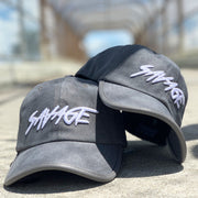 Grey Suede Savage Hat