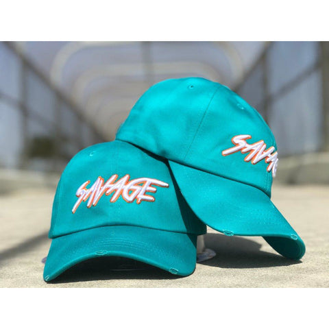 Dolphin Aqua Savage Hat