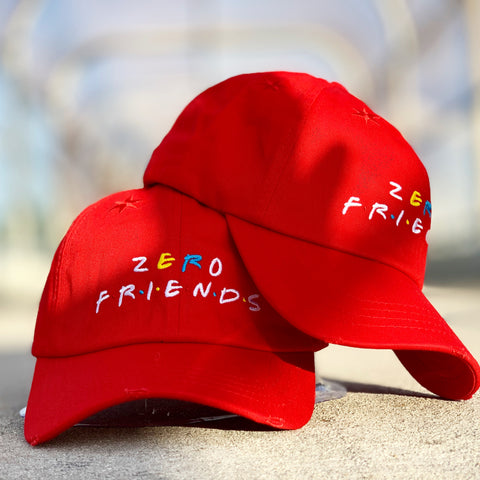 Red Zero Friends Hat