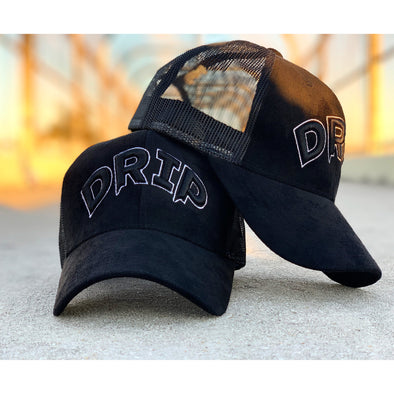 Black & White Drip Hat