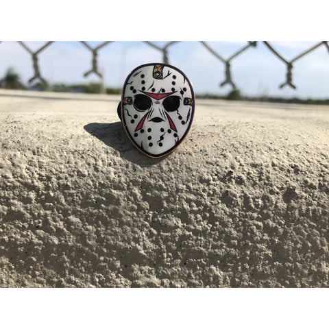 Jason Mask Pin
