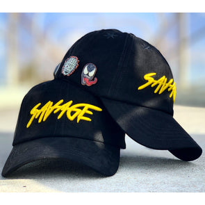 Black & Yellow Suede Savage