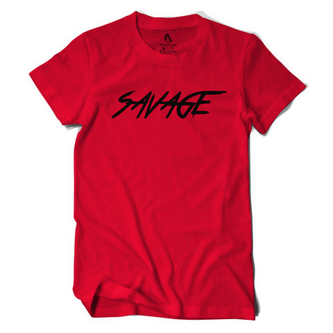 Red & Black Savage Shirt
