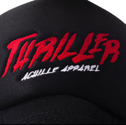 BLACK TRUCKER THRILLER HAT