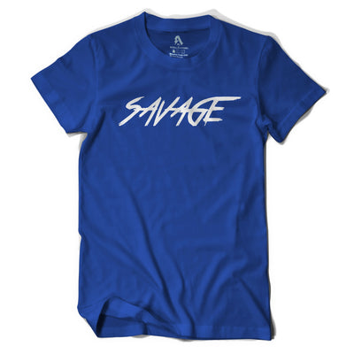 Royal Blue & White T-Shirt