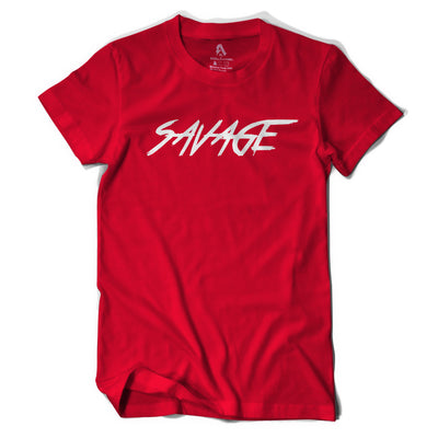Red and White Savage T-Shirt