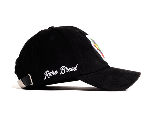 Black Suede Rare Breed Hat
