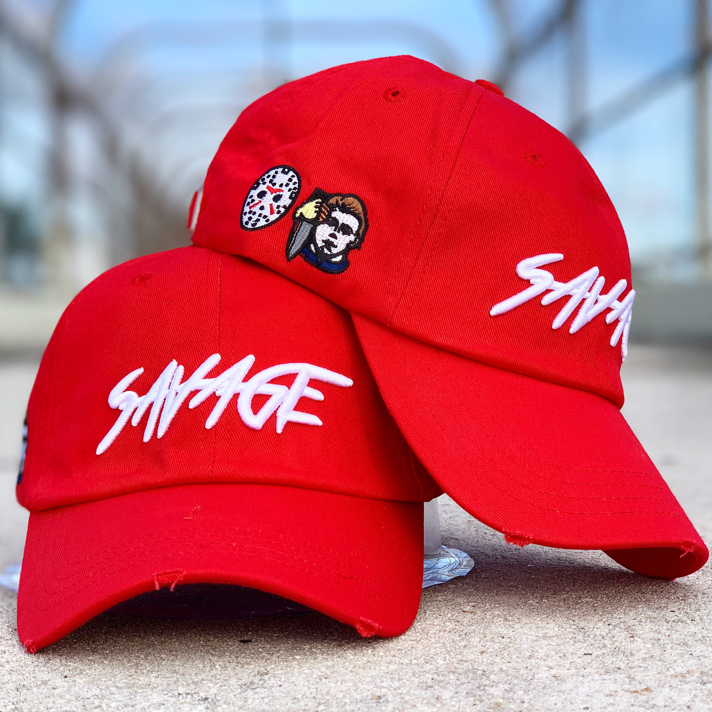 b34671570a03a Red Savage hat – ACHILLE APPAREL