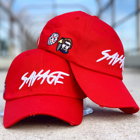 Red Savage hat