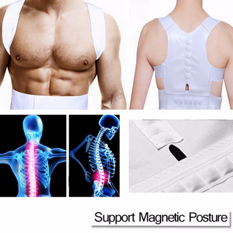 Magnetic Posture Corrector Braces & Support Body Back