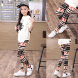 Girls Leggings Children Trousers Printing