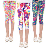 Childrens Pants Flower Classic Leggings