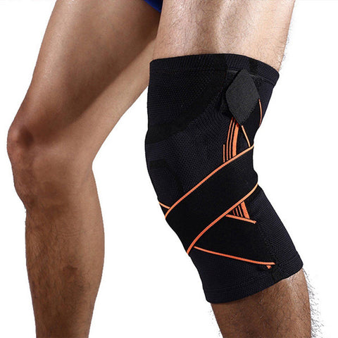 Elastic Adjustable Basketball Kneepad Compression Knee Protector
