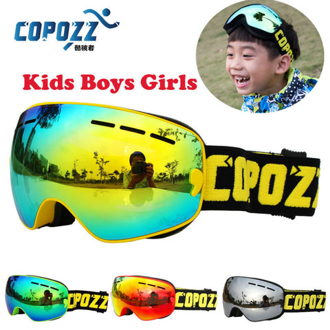 Ski Goggles for Children Double UV400 Anti-fog