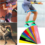 Natural Latex Rubber Elastic Fitness Resistance Bands
