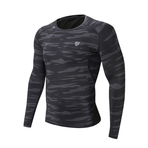 Workout Long Sleeve Fitness Sports Gym Athletic Shirt