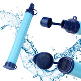 Hiking Emergency Life Survival Portable Purifier Water Filter Straw Gear