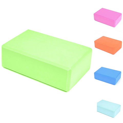 Pilates Yoga Brick Exercise Fitness Stretching Aid