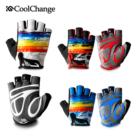 Shockproof Gloves Children Summer Sports Half Finger