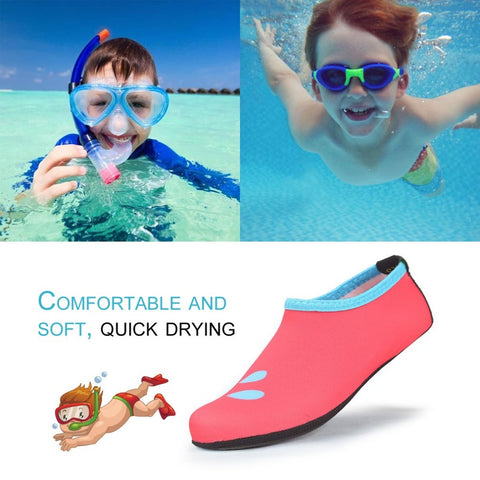 Children Swimming Shoes Breathable Water Shoes