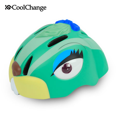 Rabbit Cartoon Bicycle Children Helmets