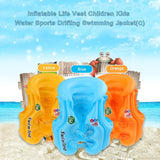 Kid's Float Inflatable Swim Vest Life Jacket