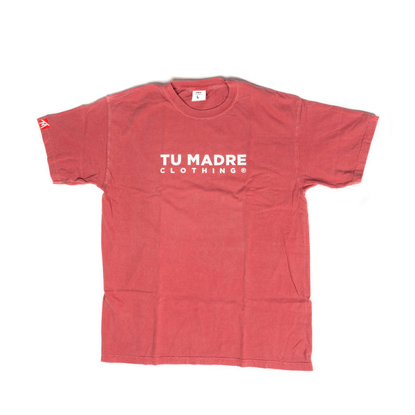 Let'em Know Tee - Vintage Red