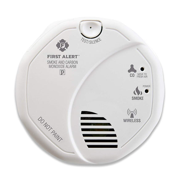 First Alert 2-in-1 Z-Wave Wireless Smoke Detector & Carbon Monoxide Alarm, Battery Operated