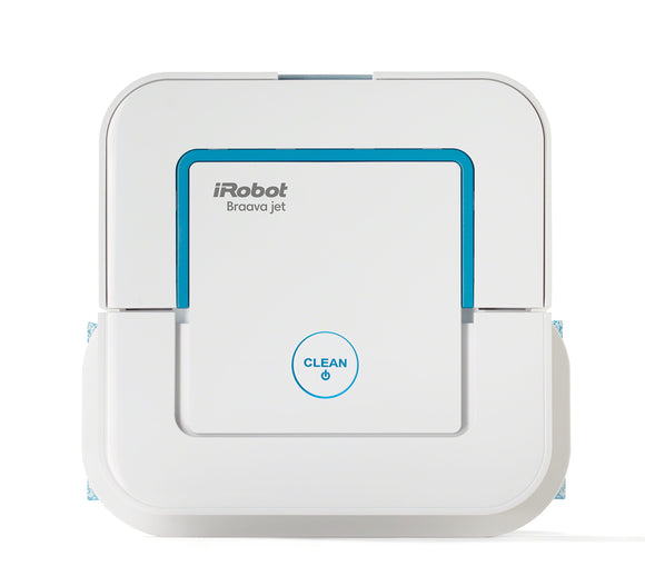 iRobot Braava Jet 240 Superior Robot Mop - App Enabled, Precision Jet Spray, Vibrating Cleaning Head, Wet and Damp mop