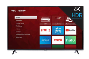 TCL 55S425 55 inch 4K Smart LED Roku TV (2019)