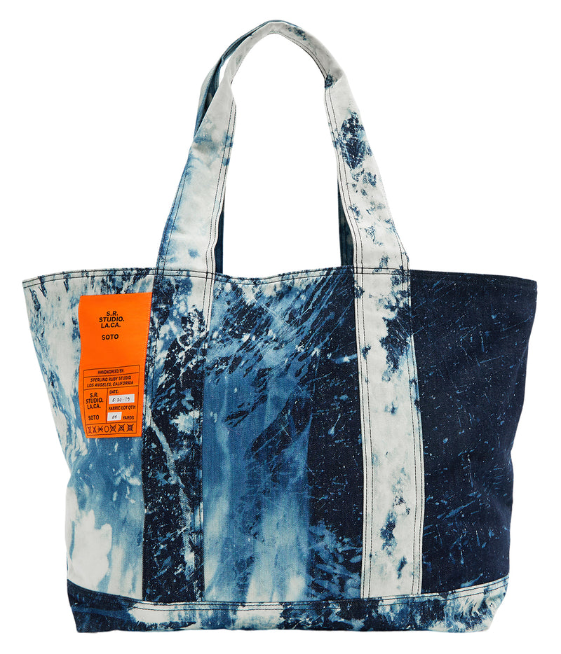 indigo soto laundry bag