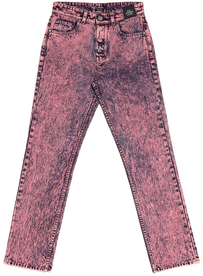 WOMEN'S C-JEAN WITH MINERAL WASH S.R. STUDIO. LA. CA. BY STERLING RUBY