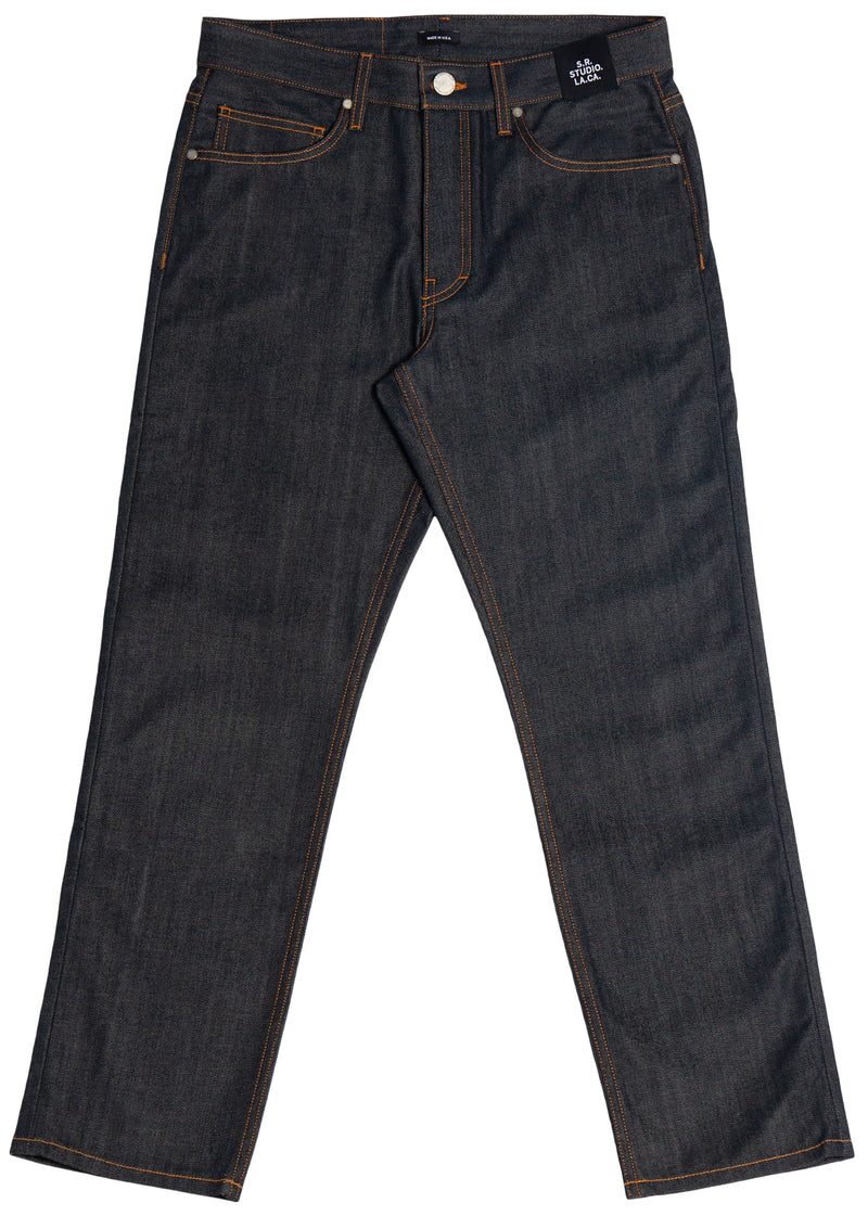 MEN'S C-JEAN WITH CONTRAST STITCHING