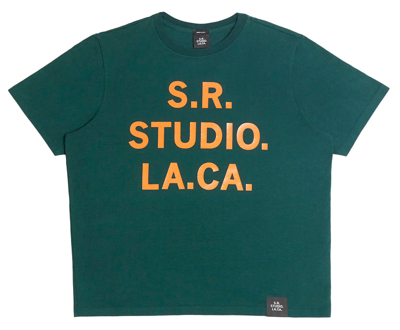 BASIC T-SHIRT WITH S.R.S. LOGO/STATE GRAPHIC
