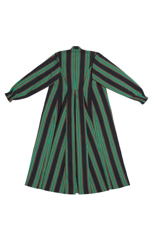 B.G.R. STRIPE DOUBLE LAYER DRESS