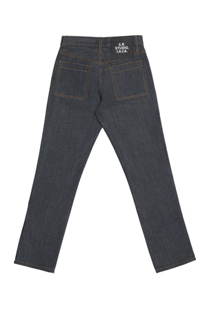 WOMEN'S C-JEAN WITH CONTRAST STITCHING