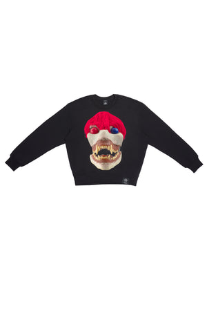 ED. 50 CREWNECK SWEATSHIRT WITH SKULLS