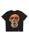 ED. 50 BASIC T-SHIRT WITH ORANGE HAIRED GREEN SKULL