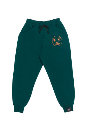 DRAWSTRING SWEATPANTS WITH VAMPIRE SUNRISE LOGO