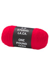 ONE POUND YARN (SCARLET), 2019