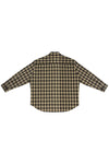 MEN'S PLAID OVERSIZED BUTTON DOWN SHIRT S.R. STUDIO. LA. CA. BY STERLING RUBY