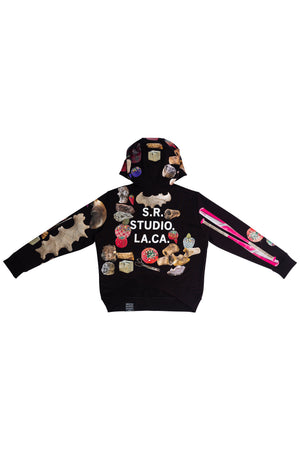 ED. 50 SLANTED PULLOVER HOODIE WITH STUDIO TOOLS