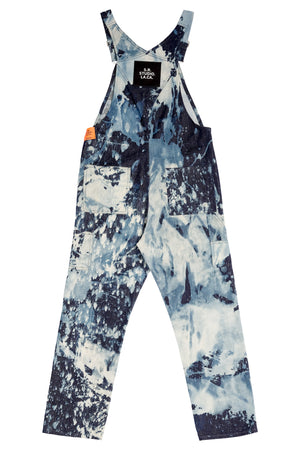 MEN'S HAND-BLEACHED INDIGO SOTO OVERALL