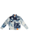 MEN'S HAND-BLEACHED INDIGO SOTO STRAIGHT CUT JEAN JACKET