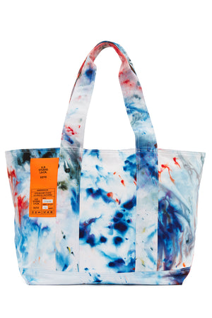 HAND-DYED T.R.B. SOTO LAUNDRY BAG S.R. STUDIO. LA. CA. BY STERLING RUBY