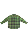 OPEN-WEAVE CHECK OVERSIZED BUTTON DOWN SHIRT S.R. STUDIO. LA. CA. BY STERLING RUBY