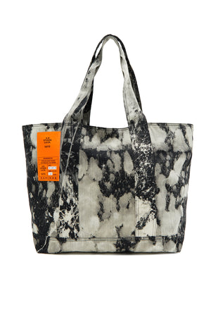 HAND-BLEACHED BLACK SOTO LAUNDRY BAG