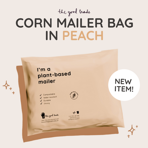 Compostable Plant-based Mailer (Peach)