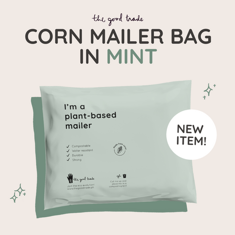 Compostable Plant-based Mailer (Mint)