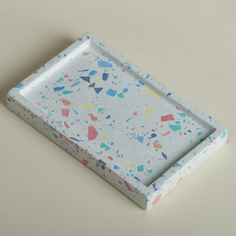 Confetti Rectangle Tray